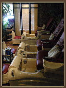 Body and Spa Rituals pedicure